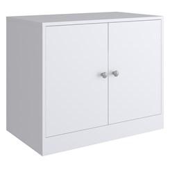 Balcão com Porta KD1630 - Quiditá - Branco