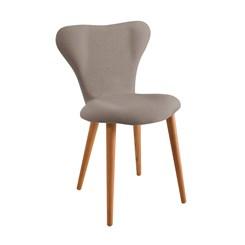 Cadeira Jacobsen - DAF - Linho Cinza