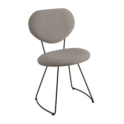 Cadeira Milão - DAF - Linho Cinza