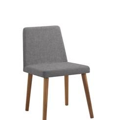 Cadeira Pri - DAF - Linho Cinza
