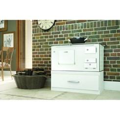 Caixa para embutir fogão à lenha N2 Completa Móveis Branca