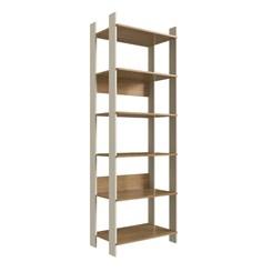 Closet CLA1001 com Prateleira Completa Móveis Off White / Itapuã