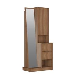 Cômoda com Espelho 2 Gavetas e 1 Porta - Nova Mobile - Montana
