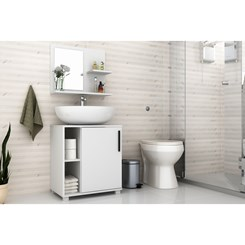 Conjunto Para Banheiro - BRV BBN 19-06 - Branco