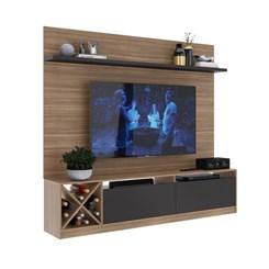 Home Theater com Adega p/ TV até 50 pol. 2023 - Quiditá - Montana/Grafite