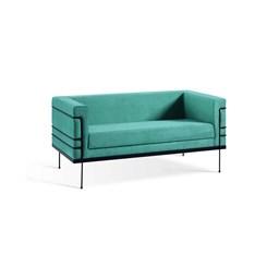 Le Corbusier 2 Lugares - DAF - Veludo Azul