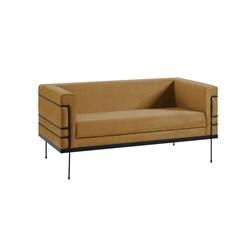 Le Corbusier 2 Lugares - DAF - Veludo Dourado