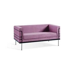 Le Corbusier 2 Lugares - DAF - Veludo Rosa