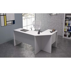 Mesa De Canto Office - BRV BHO 08-06 - Branco