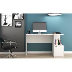 Mesa De Computador - BRV BC 75-06 - Branco