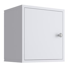Nicho de Parede com Porta KD1530 - Quiditá - Branco