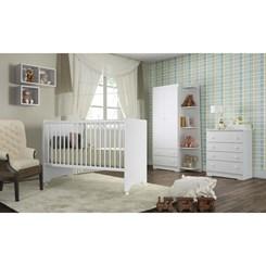 Nicho para Quarto Infantil BB 910 Completa Móveis Branco