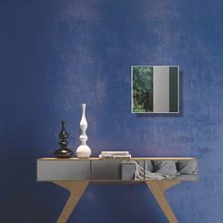 Painel Decorativo Quadrado 30Cm - Dalla Costa - Off White