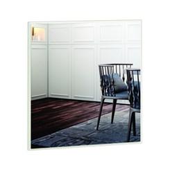 Painel Decorativo Quadrado 60Cm - Dalla Costa - Off White