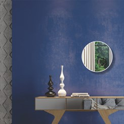 Painel Decorativo Redondo 30Cm - Dalla Costa - Off White