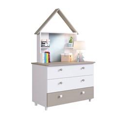 Quarto Infantil completo Children'S House Meu Fofinho - Art In - Branco
